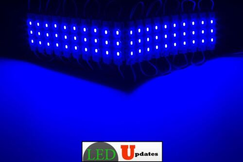 LEDUPDATES 20ft STOREFRONT Brightest Blue LED LIGHT module 5630 With UL 3A Power