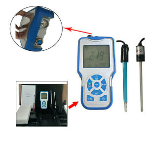 Conductivity Meter Water Quality Monitor Analyzer Portable Conductivity Tester
