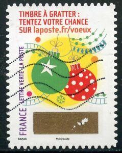 Adroit France Autoadhesif Oblitere N° 1345 // Timbre De Voeux Remises Vente