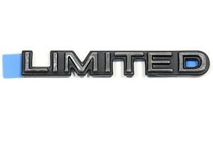 OEM NEW Front Door Limited Emblem Badge Nameplate 97-02 Buick Century 10255134