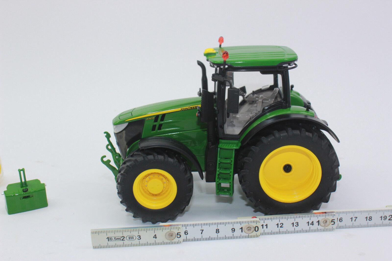 Wiking  077837 John Deere 7310R 7310R 7310R  Traktor  1 32  NEU + OVP a9dc3d