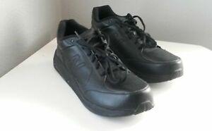 New-Balance-MW928BK-Black-Leather-Lace-Up-Waling-Men-039-s-Shoes-Sz-US14-171