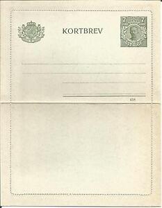 Sweden-Sverige-Kortbrev-Brefkort-Letter-Card-Postal-Stationery-7-Ore-Unused