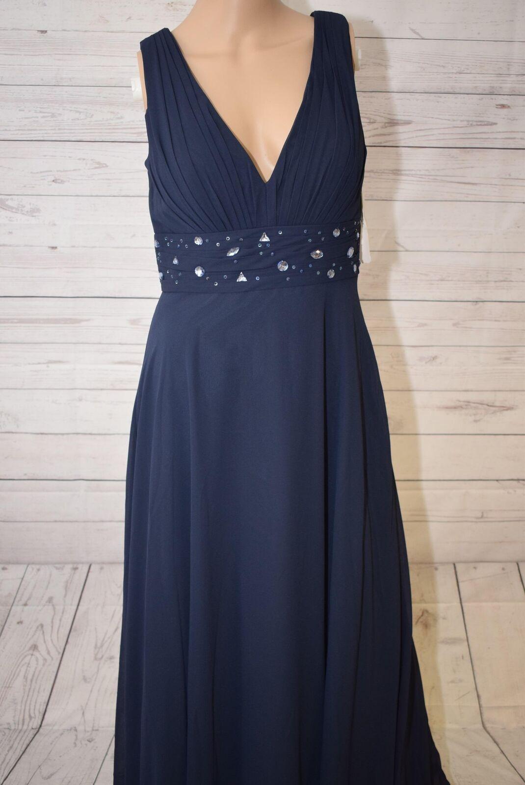 Swing Damen Kleid, Gr. 44, Blau