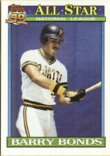 1991 Topps Barry Bonds All-Star #401 Pittsburgh Pirates Baseball Card
