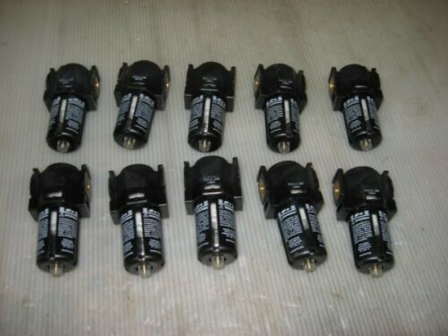 """Lot of 10 New ARO 1//4/"""" NPT Filter Mini Series F25111-200"""
