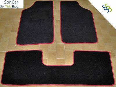 4 block PEUGEOT 205 TAPPETI tappetini AUTO su MISURA