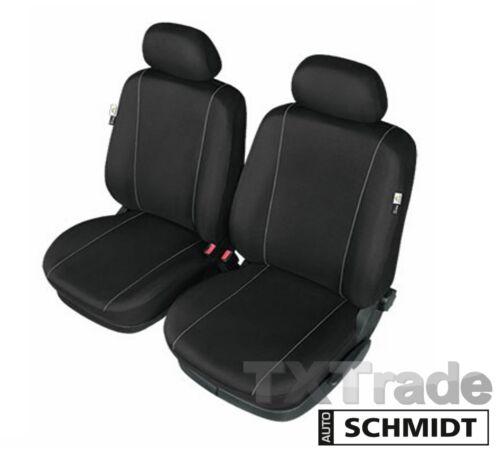 Schwarze Vorne Sitzbezüge für MERCEDES GLK X204 SCHMIDT XL