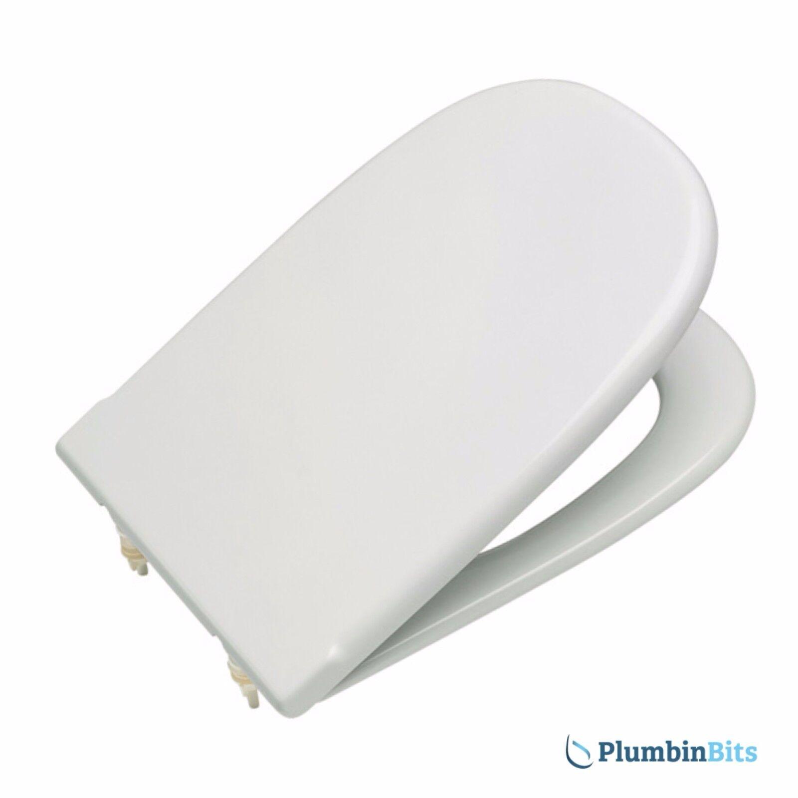 Roca Dama remplacement Siège de toilette avec standard fermer Barre Charnière Blanc 801327004