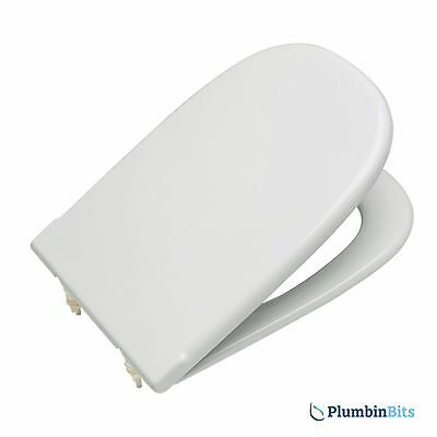 Marvelous Roca Dama Replacement Toilet Seat With Standard Close Bar Hinge White 801327004 8414329421828 Ebay Bralicious Painted Fabric Chair Ideas Braliciousco