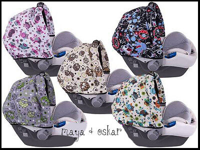 Universal Baby Car Seat Sun Canopy Shield Wind Cover Waterproof