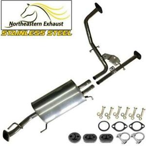 Stainless steel Exhaust Resonator Tail Pipe fits 2001-04 Pathfinder 2001-03 QX4