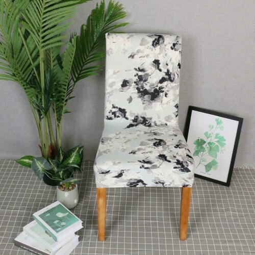 Dining Chair Covers Removable Stretch Universal Protective Cover Slipcover  UK