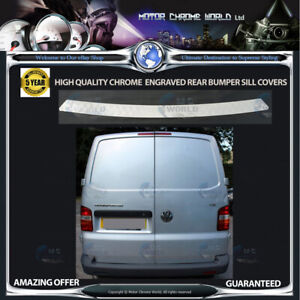 VOLKSWAGEN-T5-LOGO-CHROME-BUMPER-SILL-COVER-HIGH-QUALITY-5y-GUARANTEE-2003-2009