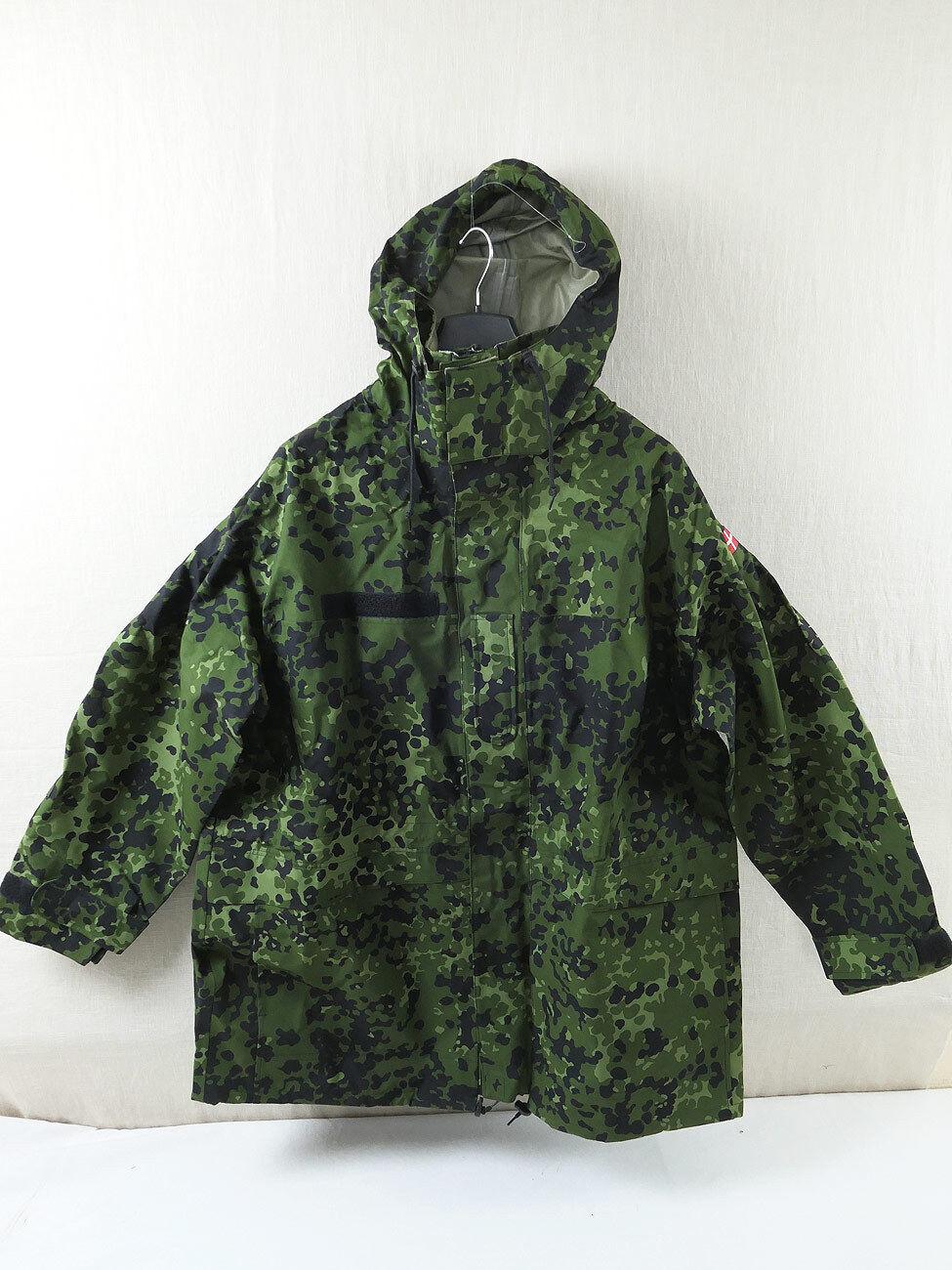 1006 DK 2xl Danimarca Army Goretex Pioggia Giacca umidità prossoezione camo mimetica 318