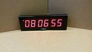 Torpey-Time-CLK-20C-Low-Profile-Wall-Mount-Clock-Display