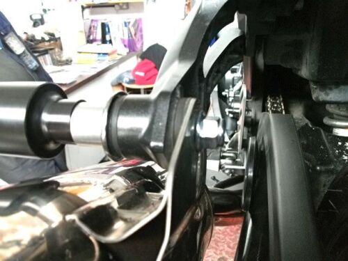 KAWASAKI ZZR1400 ZX14R 2006-2011 EXHAUST CRASH MUSHROOMS PROTECTORS SLIDERS