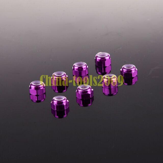 Nylon Nut M3 8P 02102/02191 Part 102048 P For 1/10 RC Car HSP Redcat Himoto
