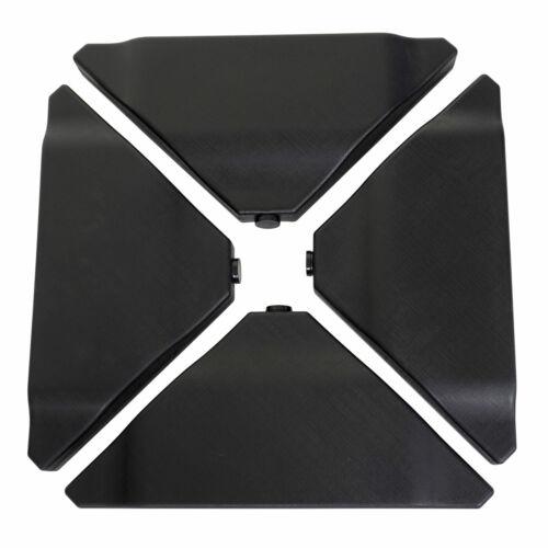 80kg Schirmständer MCW-A40 Ampelschirmständer für Bodenkreuz