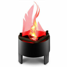4XElectric LED Flame Effect Lamp Torch Light Brazier Fire Campfire Christams USA