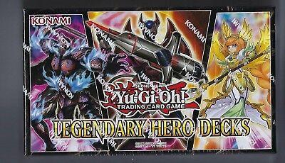 Yugioh Legendary Hero Decks Box Set Volume 4 150 Cards Ebay