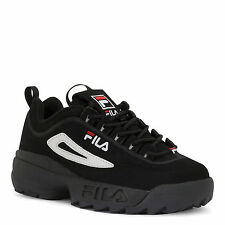 fila shoes all white. men\u0027s fila disruptor 2 nubuck fw 01653-018 black white red 100% authentic b shoes all
