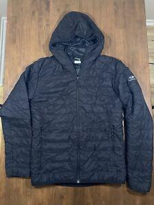 Icebreaker Merino Gt Jacket Mens Medium Wool Fill Puffer Ebay