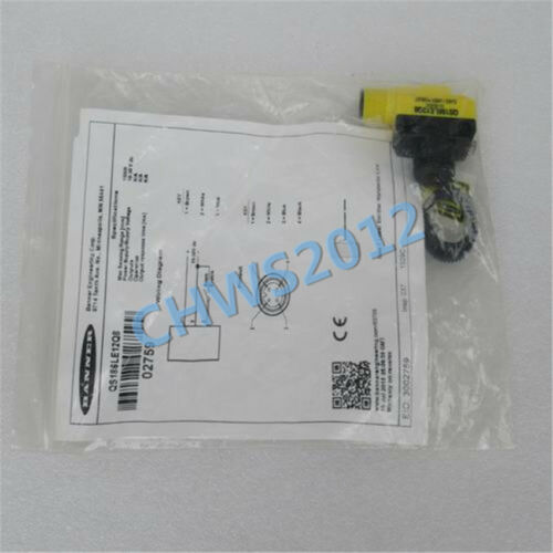 1 PCS NEW BANNER sensor QS186LE12Q8 02759