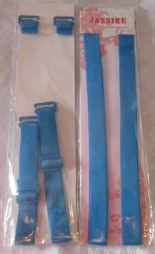 Adjustable Detachable Metal Hook Bra Straps Replacement *FREE POSTAGE UK* 1.5