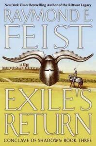 Feist-Raymond-Exile-039-s-Return-US-HCDJ-1st-1st-NF