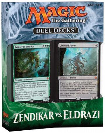 MTG Magic The Gathering SEALED Zendikar vs Eldrazi Duel Decks English