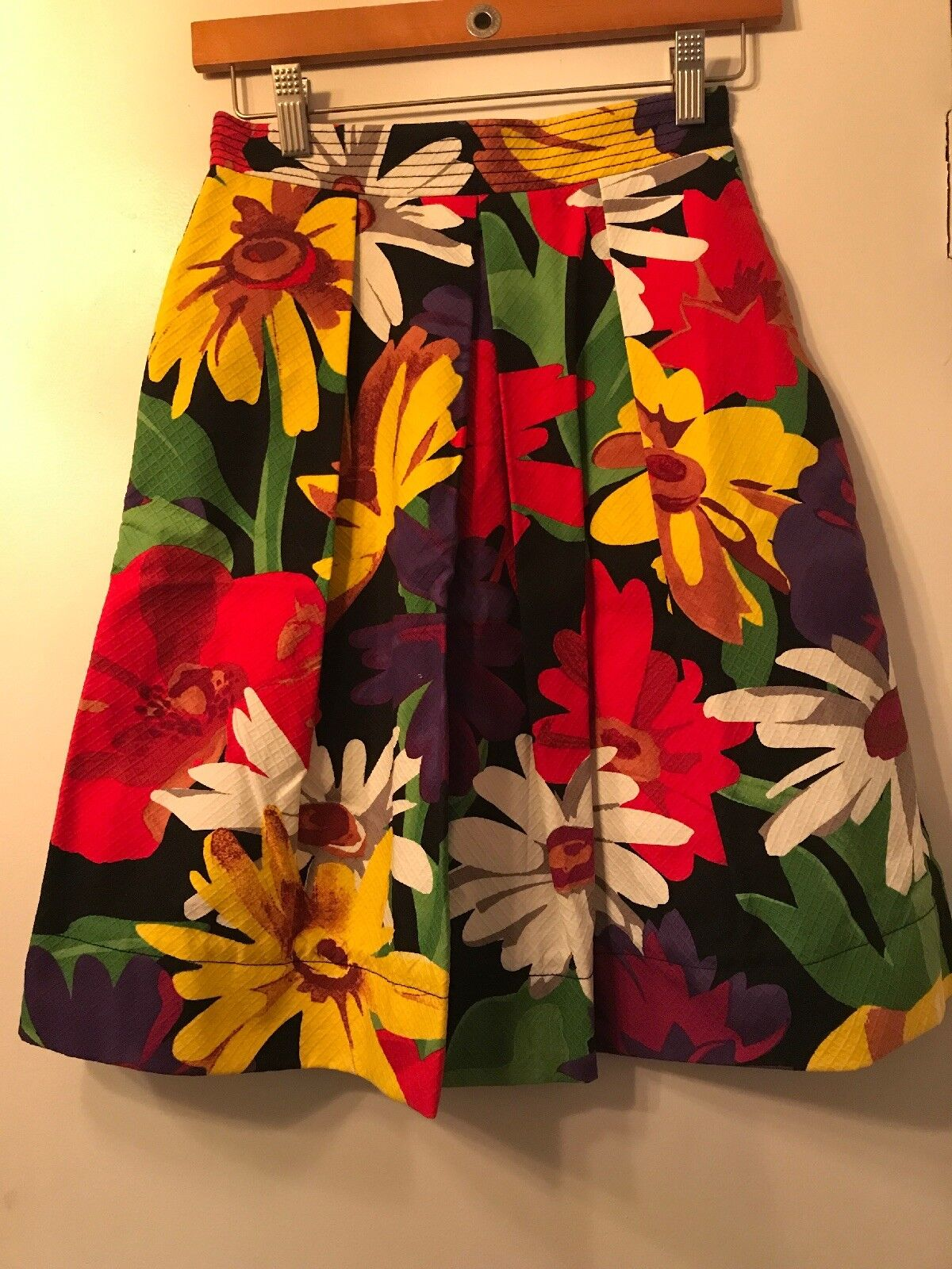 See By Chloe Floral Cotton Skirt Size US 2  I 38 NWOT