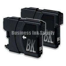 2 BLACK New LC61 Ink Cartridge for Brother Printer MFC-490CW MFC-J415W MFC-J615W