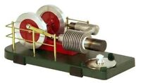 Stirling Hot Air Engine And Book - Solar 1