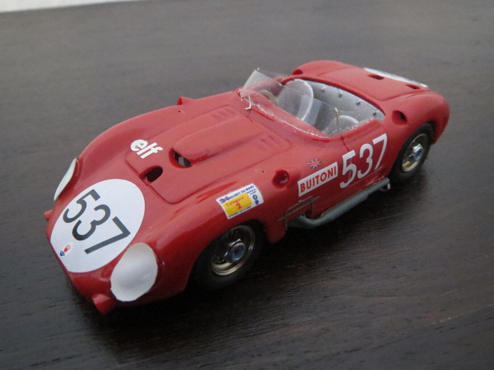 Rar  gamma models Maserati 450 s 1957, rosso, resine, 1 43, top
