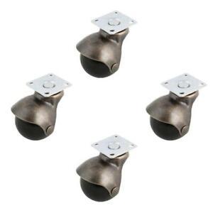 4-pezzi-Ruote-girevoli-con-rotelle-con-piastra-superiore-girevole-bronzo-V6Q3