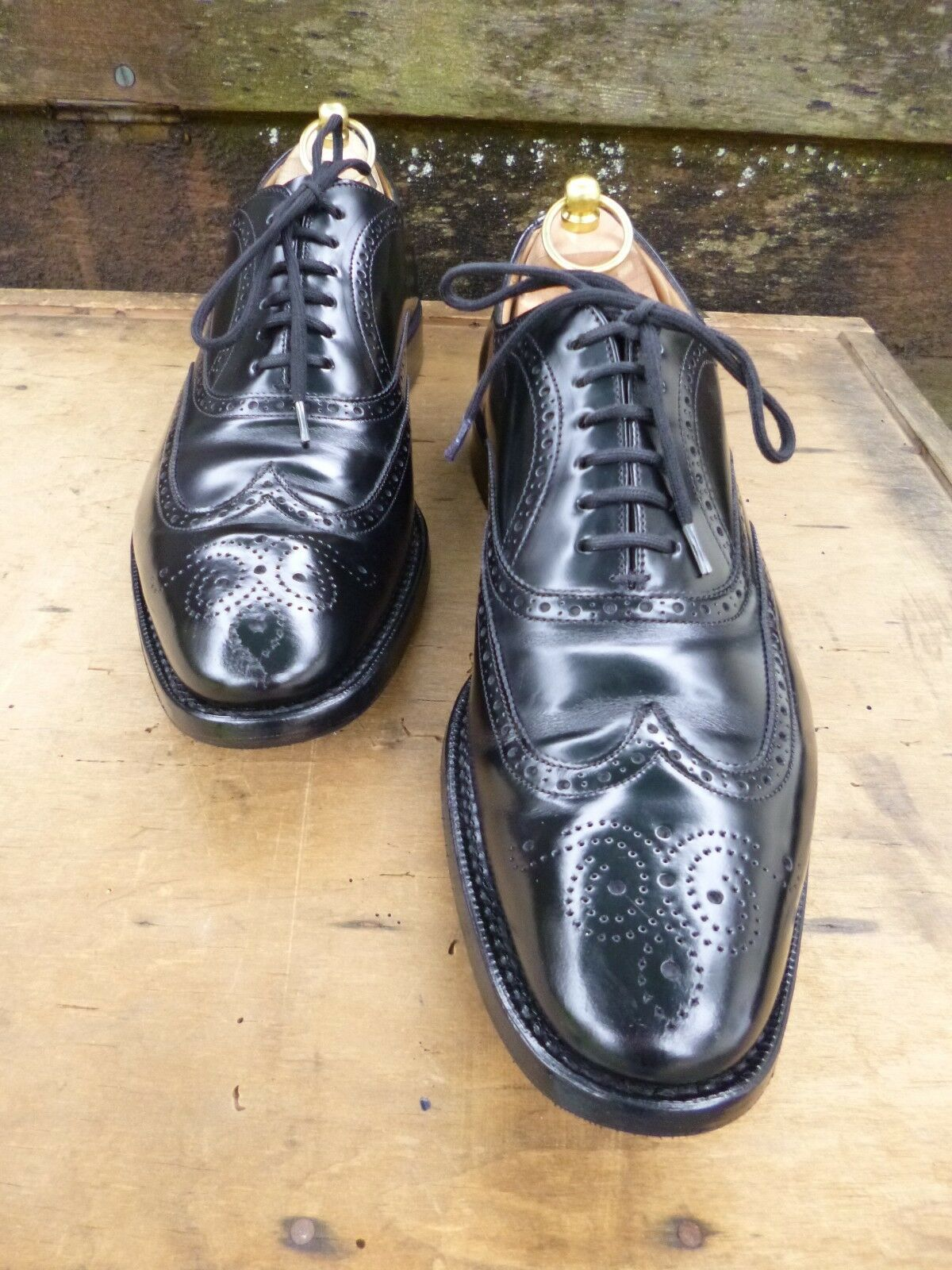 CHURCH OXFORD BROGUES - BLBCK – UK 6.5 – NEW YORK - EXCELLENT CONDITION