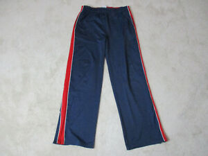 VINTAGE-Tommy-Hilfiger-Track-Pants-Adult-Extra-Large-Blue-Red-Spell-Out-90s