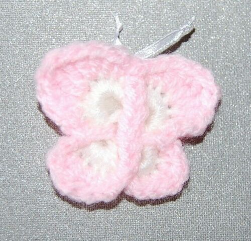 Girls/' Kids Hair Clips Accessories Cute Butterfly Crocodile Grip Hand Knitted