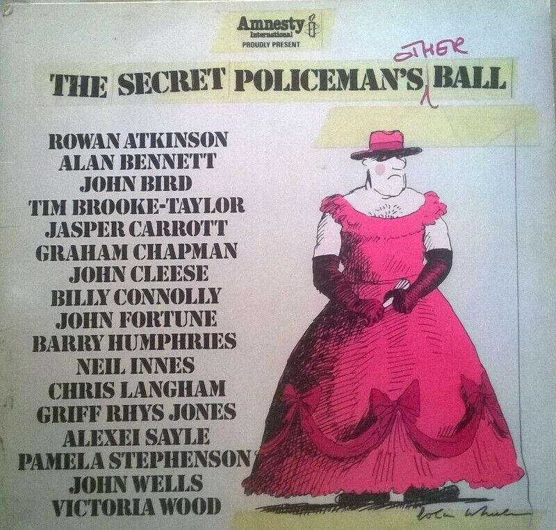 "The Secret Policeman's 'Other' Ball, LP 12"" Vinyl Record. By Amnesty International"