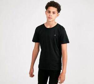 Junior Calvin Klein Logo Black T-Shirt (SJ2) RRP £27.99