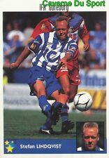 115 S. LINDQVIST SWEDEN IFK GOTEBORG STICKER MEJORES EQUIPOS EUROPA 1998 PANINI