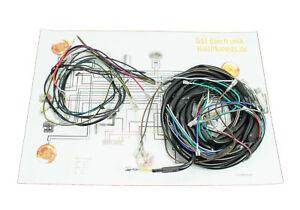 Faisceau-avec-schema-de-branchement-pas-pour-samson-s51-s50-s70-Base-Cable-electrique-NEUF