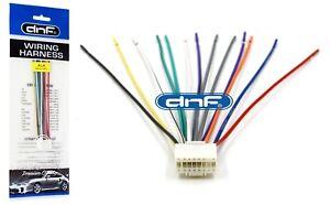alpine cda 7850 cda 9805 cda 9807 cda 9811 wiring harness free rh ebay com Alpine CDA 9886 Wire Harness Alpine Radio Wiring