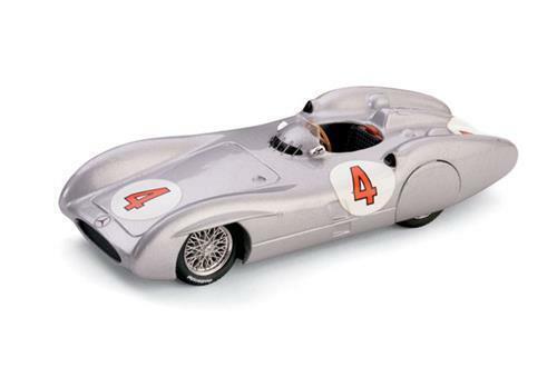 Mercedes W196C Prove Avus Karl Kling 1954 Brumm R326 1:43 Modellbau Diecast