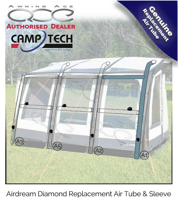 Camptech Airdream Diamond Awning Replacement Air Tube  - Air Bladder - Air Beam  the newest brands outlet online