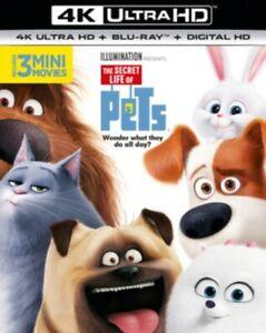 The Segreto Life Of Pets 4K Ultra HD Nuovo 4K UHD (8311121)