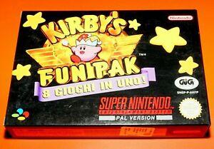 New-Kirby-039-s-Fun-Pak-Games-Videogame-Gioco-per-Console-Nintendo-Super-Nes-Snes