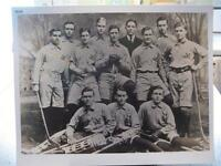 1905 YALE HOCKEY TEAM ENLARGED 16 X 20 PHOTO, NEW HAVEN, CONNECTICUT