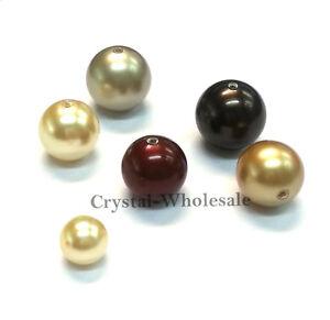 50 Pack Grey 6mm SWAROVSKI Elements Crystal Pearl Beads
